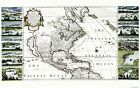 Old Caribbean Map - West Indies and British Empire in Ame...