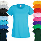 Fruit of the Loom Lady Fit Valueweight T-Shirt Damen Rundhals Kurzarm Shirt