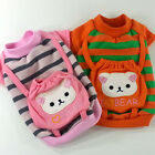Dog&Cat Clothes Backpack Bear Embroidered Shirts_A329