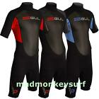 GUL MENS RESPONSE SHORTIE 3/2 MM WETSUIT SHORTY bodyboarding kayaking  diving