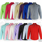 BOYS Shirt LONG SLEEVED Formal Shirt WEDDING Christening SMART Shirt PARTY KIDS