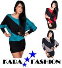 BNWT SEXY TUNIC DRESS LONG SLEEVES TOP  KIMONO BATWING TUNIC STYLE * PARTY *6006