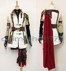 Final Fantasy 13 Lightning Cosplay Costume Wig Boots Shoes Tailored Free Ship