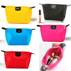 Women Nylon waterproof makeup Cosmetic bag Students pencil case zipper purse bag