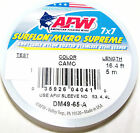 40 LB, AFW MICRO SUPREME 49 STRAND 7X7 COATED-KNOTABLE-STAINLESS STEEL WIRE