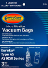Kyпить Eureka AS Style Vacuum Bags By Envirocare (Fits Eureka Air Speed Vacuum) на еВаy.соm