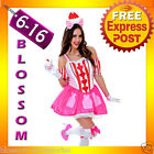 J89 Katy Perry Sweet Cupcake Cup Cake Candy Spice Birthday Fancy Dress Costume