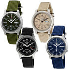 Seiko 5 MILITARY NEW Automatic Day Date Watch SNK803 SNK805 SNK807 SNK809 image