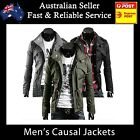 Mens Jacket Men Casual Military Jacket coat SEXY SLIM FIT