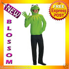 C518 Licensed Mens The Muppets Kermit Frog Adult Costume Kit
