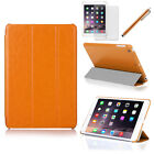 Tri-Fold Slim Smart Magnetic Leather Case for Apple iPad Air 1 2 / Mini 1 2 3