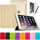 Tri-Fold Slim Smart Magnetic Cover Case for Apple iPad Mini Sleep Wake w / Stand