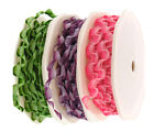 Twisted Zig Zag Ribbon 2 Meters, available in 3 colours for crafts and jewelery