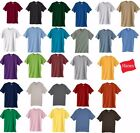 Hanes Beefy-T TALL TAGLESS T-Shirt 100% Cotton 518T Mens LT XLT 2XLT 3XLT 4XLT