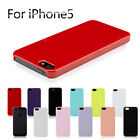 2pcs Black White Transparent Ultra Thin Snap-On Hard Case Cover For iPhone 5
