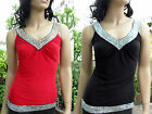 New Boho chic Sexy women summer V collar wink spandex tops Bg-171 S-M