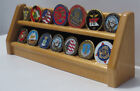 Challenge Coin Poker Chip Display Stand Holder, not a display case or Cabinet
