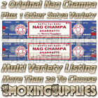 2 x 15g Box of Original Satya Nag Champa Incense Sticks Plus 1 Other You Choose