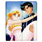 New Sailor Moon Anime Love Couple Apple iPad 4 iPad 3 iPad 2 Flip Cover Case