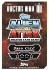 Doctor Who Alien Attax Topps *CHOOSE YOUR CARD* Mirror Foil Card 17 to 48