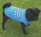 Dog PRINCE Singlet Blue Cool  XS S M L - Basketball Clothes Chihuahua Puppy Pet