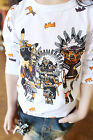 1750 Boutique Tribe Print Strechable Cotton Shirt High Quality Very Fashionable