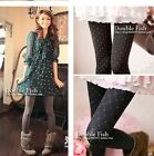 Women's Velvet comfortable Knitted solid color Autumn Leggings Tights Pants 5513