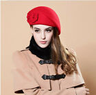 Hot Fashion Wool Warm Women Felt French Beret Beanie Hat Cap Tam