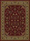 Persian Oriental Traditional Floral Area Rugs 953 Burgundy -RDC 2021AQ0