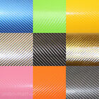 4D GLOSS CARBON FIBRE / FIBER WRAP. ALL COLOURS. ALL SIZES. AIR FREE. CAR WRAP.