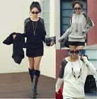 Maggie Tang Batwing Leopard Blusen Pulli Kleid Blouse Hemd Shirts Pullover