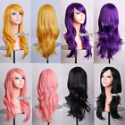 12 Colors New Fashion Long Wavy Fancy Dress Cosplay Party Women Hair Wig 70cm