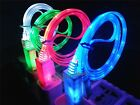 10x Lot LED USB Data/Sync Charger Cable For Apple iPhone 5S 5C 5G 5 iOS7 NEW