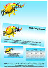 Business Stationery Packs - 50, 100 - letterheads, compliments, business cards