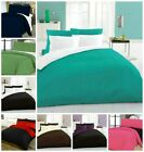Complete Reversible Bedding Sets 4 PC Duvet Cover+Fitted Sheet+Pillow Cases