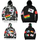 K-POP Idol Style - Supreme Flag Pullover Size Hoody T-Shirts + Gift [UF]