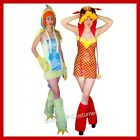 WOMENS DRAGON MYTHICAL MAGICAL CHINESE NEW YEAR FANCY DRESS COSTUMES SIZE 6-8