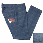 Relco Tweed Check Sta Press Style Trousers NEW Mod Skin Vtg Ska Retro Stay Prest