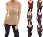 Stunning Scoop Neck Ruched Gathered Raglan Long Sleeve Blouse Top