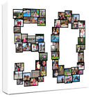 Personalised Photo Collage Canvas  Number Collage / Montage great gift