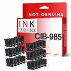 30 Compatible INK Cartridge LC985 LC975 For Brother Printers