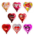 """Wholesale 18""""  Valentines Day Heart Shaped Helium Foil Balloon Party Love Roses"""
