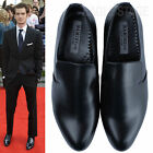 EagleStage Classic Slip-On Loafers Black MENS Dress Shoes Size 6 7 8 9 10 11