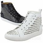 EagleStage New Spike Studded Sneakers MENS Hi-Top Shoes Size 6 7 8 9 10 11