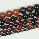 "Natural Red Dream Agate Gemstone Round Loose Beads 15.5"" 4mm 6mm 8mm 10mm 12mm"