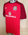 BNWT Official Umbro Wales Training Top - Warm Up/Pre Match - Red - Gareth Bale