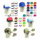 Trucker Hat Baseball Cap Mesh Caps Blank Plain Hats (39 Color Choices)