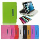 "Flip Leather Case+Stylus+Gift Film For 8"" Insignia Flex 8 NS-14T002 Tablet TY4"