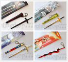 Fate Stay Night King Arthur Saber Sword Keychain Key Chain Cosplay Free Shipping