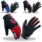 NEW Men's Outdoor Sports Warm Cycling Bike Bicycle Full Finger Comfy Gloves S~L